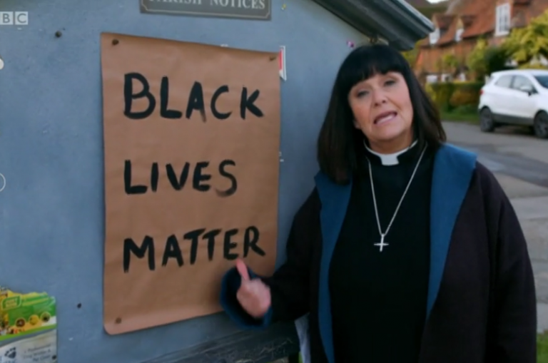 Furious Vicar of Dibley fans switch off as they slam 'woke' Dawn French for taking the knee in Black…