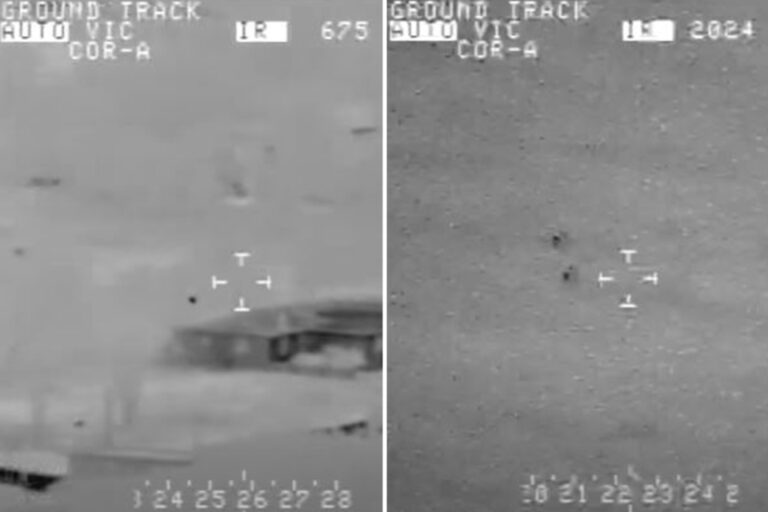 'Most compelling' UFO vid shows mystery craft split in two at 120mph as 55 scientists demand Senate…
