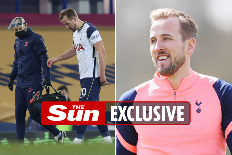 Harry Kane winning race to be fit for EFL Cup final as Tottenham captain makes quick recovery from…
