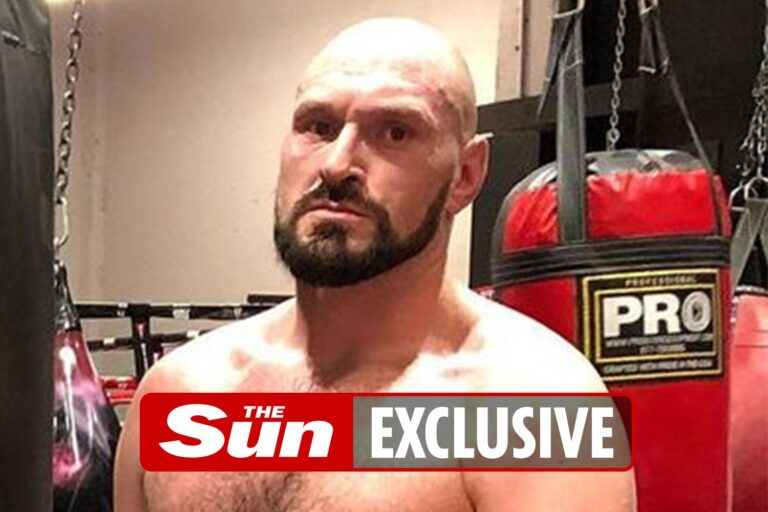 Tyson Fury preparing to fly to Las Vegas for Anthony Joshua training camp as £500m two-fight deal…