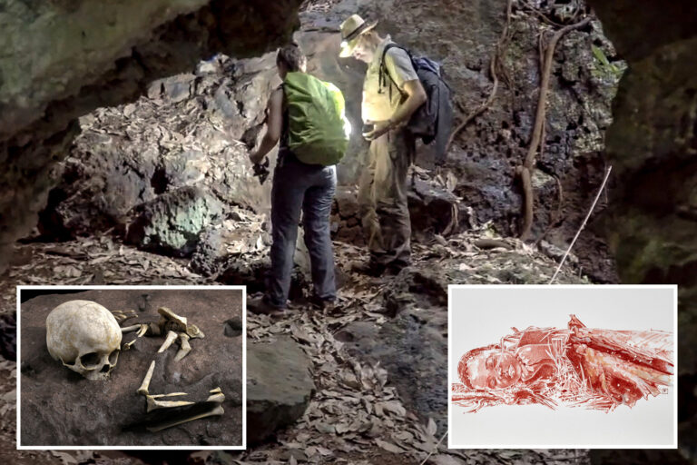 'Astonishing' ritual burial of 3-year-old found after 78,000 years 'is earliest sign of human grief'