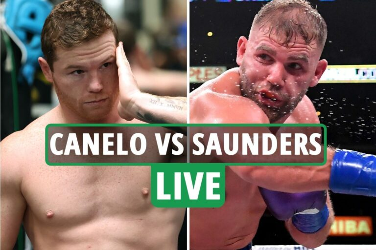 Canelo Alvarez vs Billy Joe Saunders LIVE RESULTS: Latest updates from HUGE world title clash in…