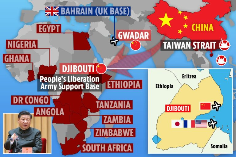 Africa could be massive battlefield in 'inevitable' war between the US and China as Xi stakes claim…