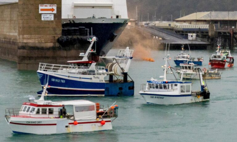 Boris Johnson vows to defend Jersey from French threats and insists Navy gunboats WILL stay on guard
