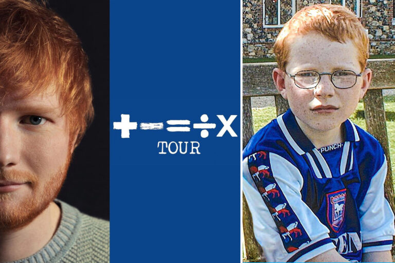 Pop icon Ed Sheeran announces he will be sponsoring beloved League One Ipswich Town next season with…