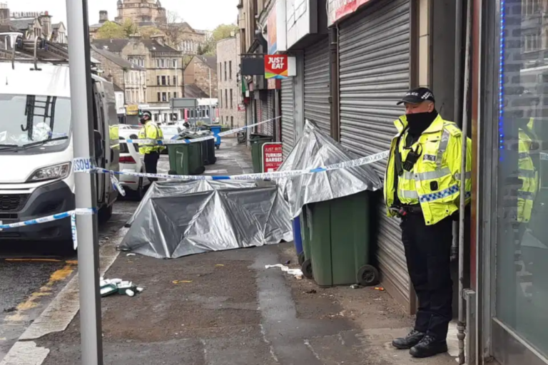 Paisley man fighting for life after 'targeted stabbing' near polling station as arrest made