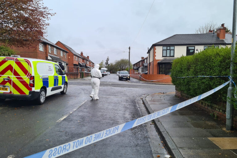 Boy, 15, stabbed to death near primary school in Bolton and staggered to house for help